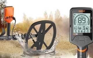 Металлоискатель Quest Q30: описание, свойства, полный обзор, характеристики и особенности ремонта
