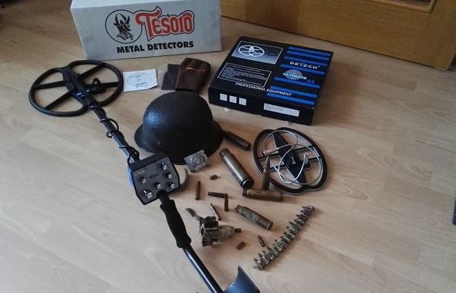 Находки с металлоискателем