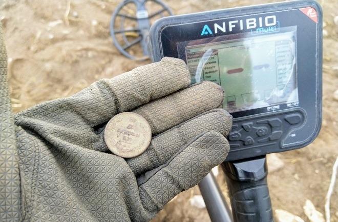 Монета анфибио